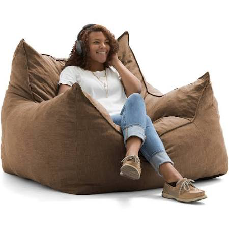 Pin by Alexandra Davis on New Office Leather bean bag