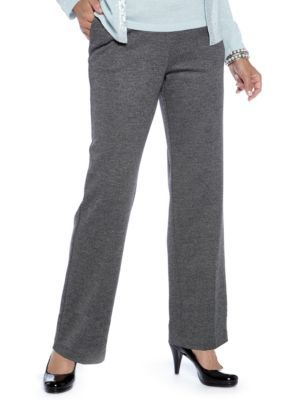 Alfred Dunner  Park Place Pull On Tweed Pant