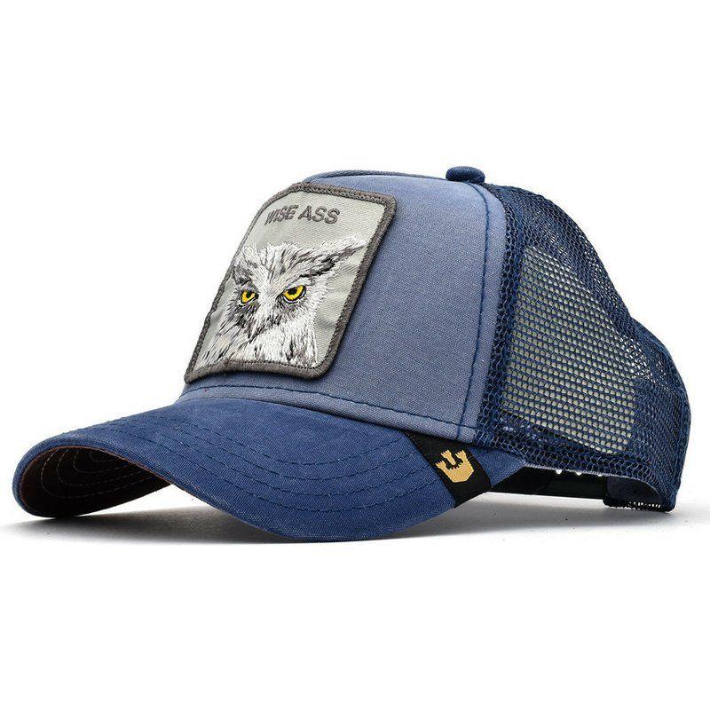 Goorin Bros Butthead Trucker Blue