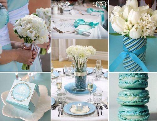 Blue Black White Table Setting yellow insted of blue & casamento-azul-tiffany.jpg (500×385) | Arranjos | Pinterest ...