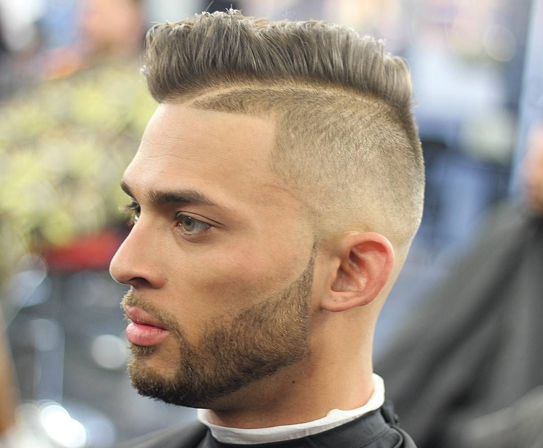 Nice impressive shaved side hairstyles classic cuts for men