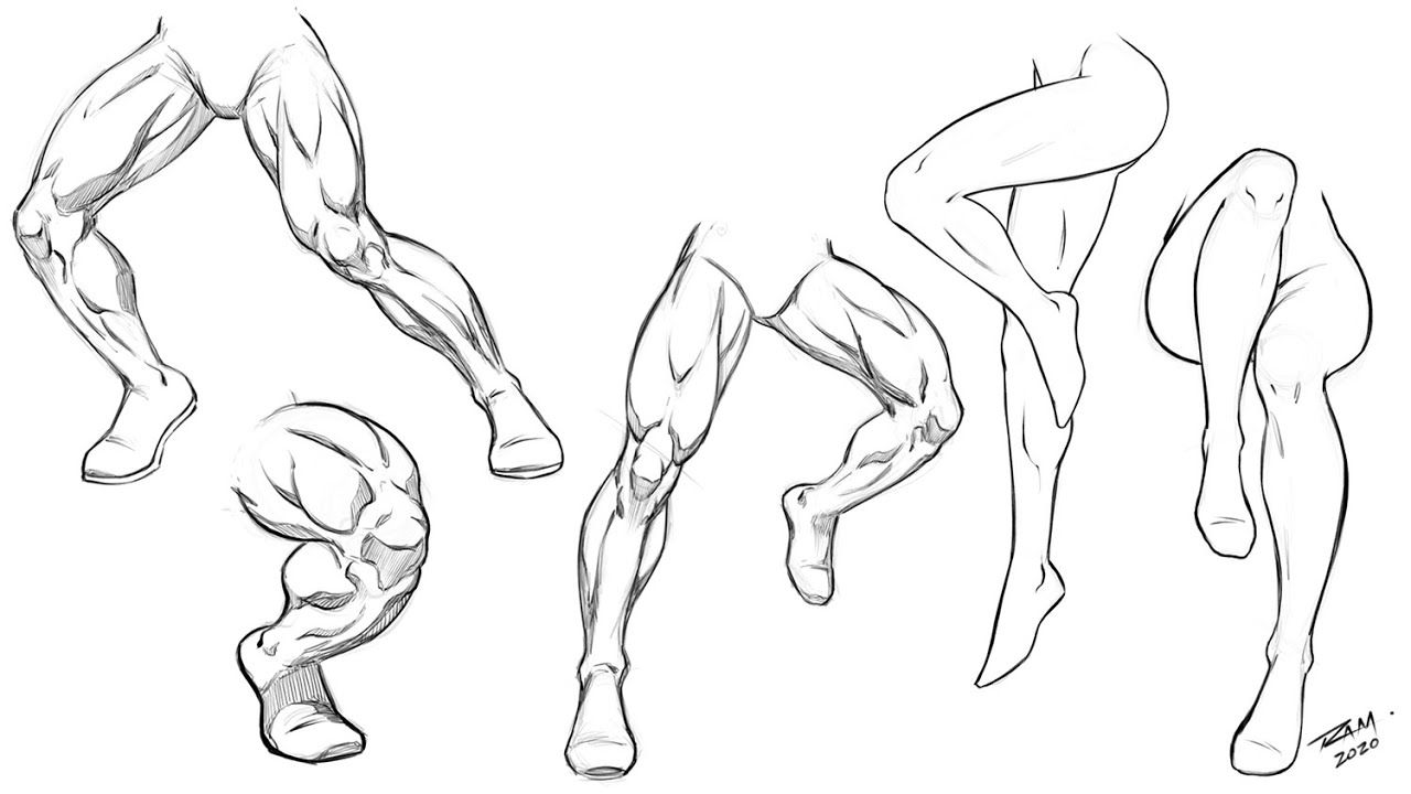 How To Draw Male And Female Legs Practice Activity In 2020 Guy Drawing Cute Easy Drawings Anatomy For Artists