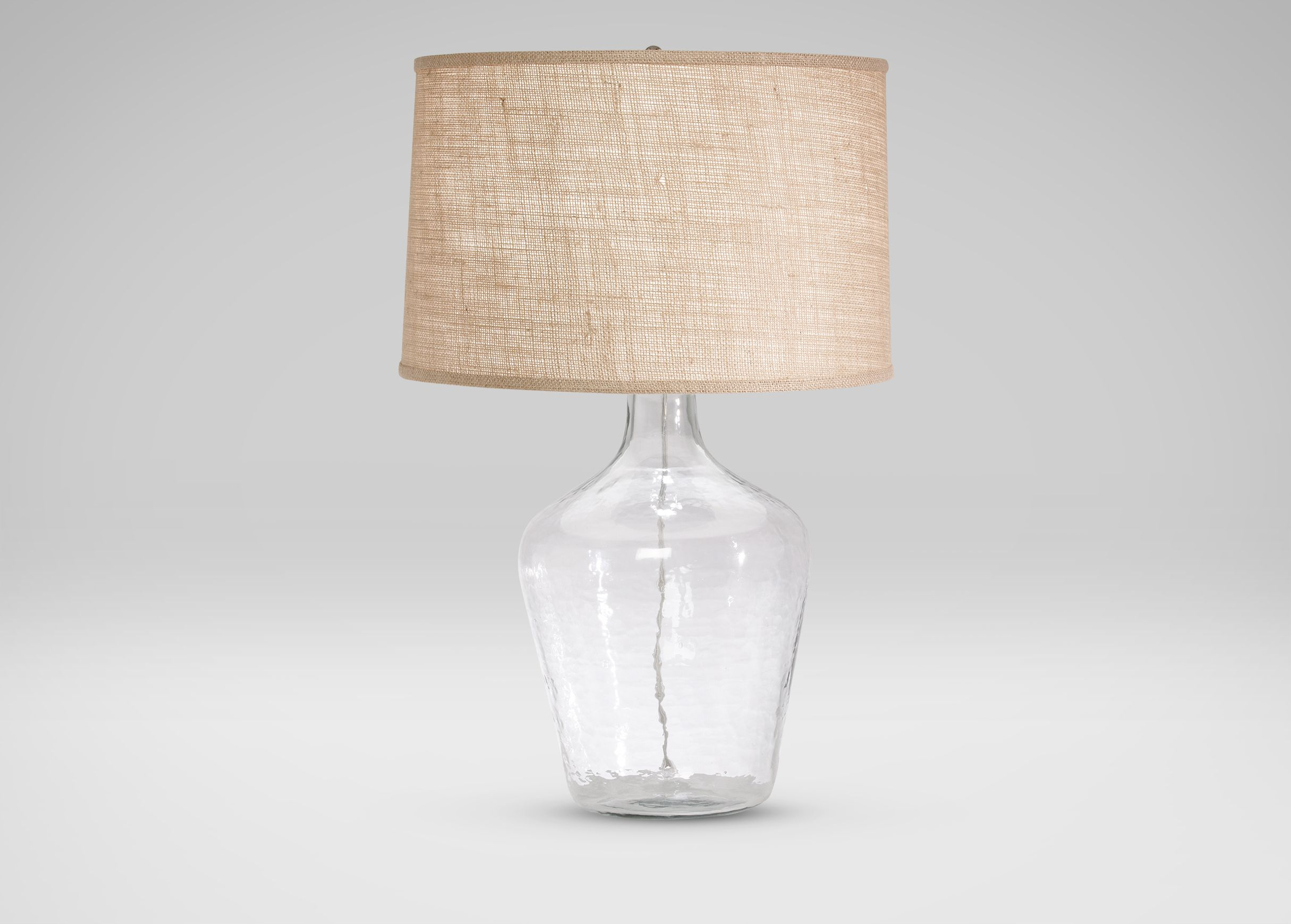 Glass Plum Jar Table Lamp Ethan Allen Abode Table Lamp