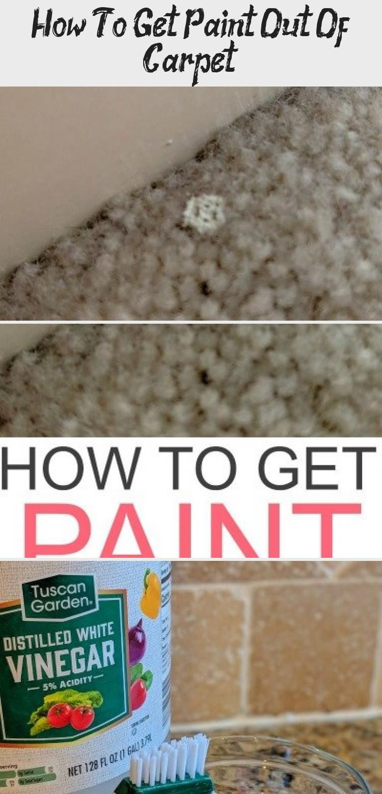 Dealing With Paint Stains In The Carpet Check Out How To Get Paint Out Of Carpet Like A Pro Easily In 2020 Homemade Carpet Stain Remover Stain Remover Carpet Carpet