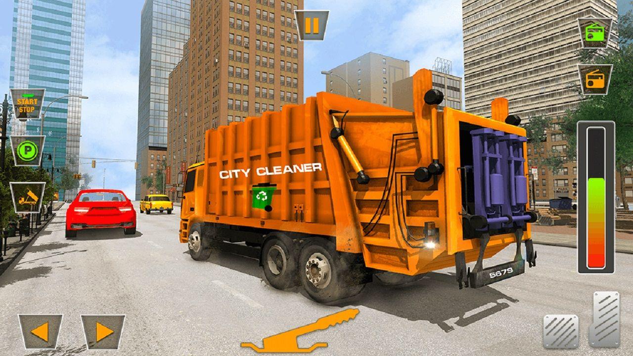 US City Garbage Cleaner Trash Truck 2020 in 2020 Trucks