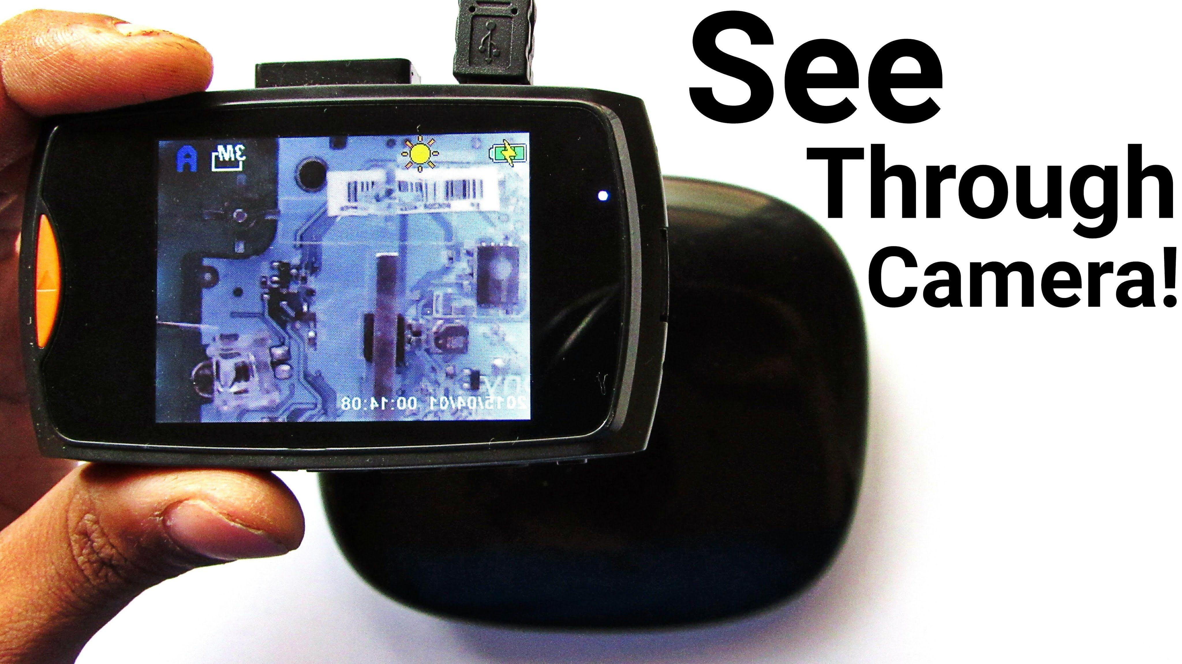 This Diy Infrared Camera Can See Through Objects New Way To Teardown Thermal Imaging Camera Thermal Imaging Covert Cameras