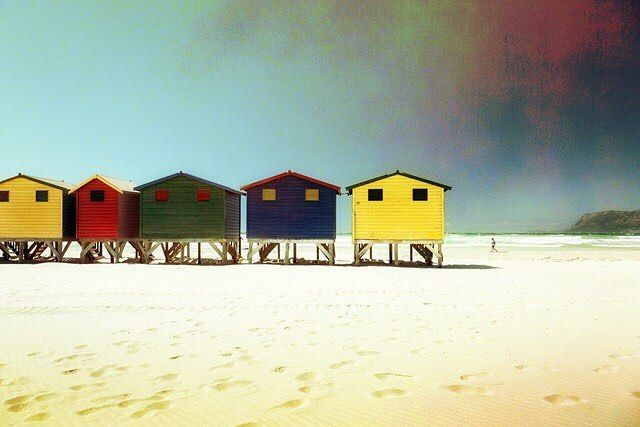 #MUIZENBERG by @evaka #Photocircle #nofilter #photoart #SouthAfrica #beach #sand #huts #sea #seaside #Südafrika #capepeninsula #Kaphalbinsel #Kapstadt #Capetown #summer #coast #colors #sunshine #sky #donation #socialentrepreneurship #education for #children from #township