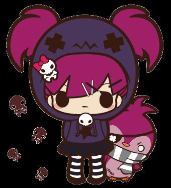 punk-kawaii gilr !
