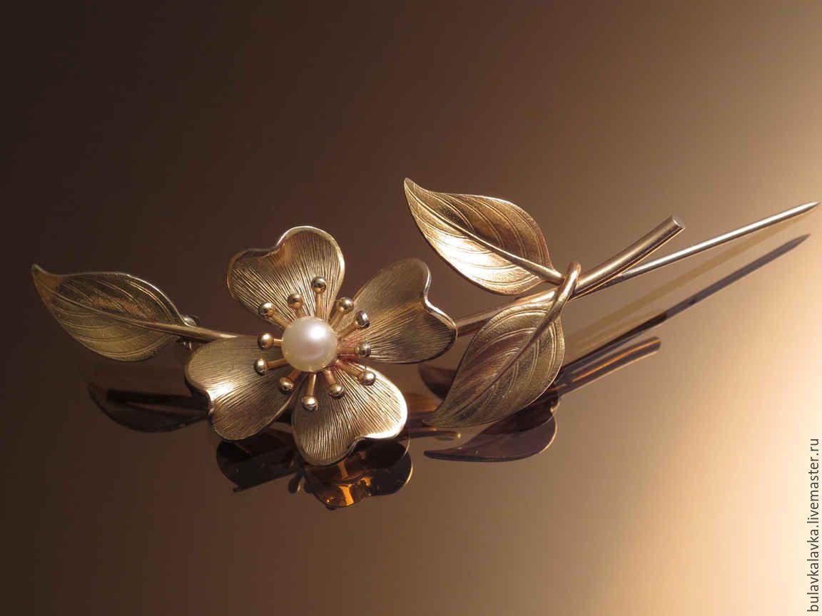 Золотые цветы фото картинки