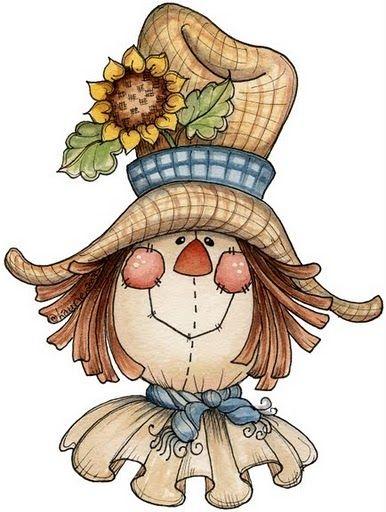 sweetsScarecrow Face Clipart