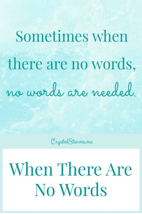 baaee9a0db9d1b What do you say when words won t bring comfort  What can you do for that  friend who is suffering