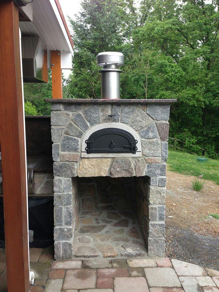 Outdoor pizza brick oven. | Дача, Очаг