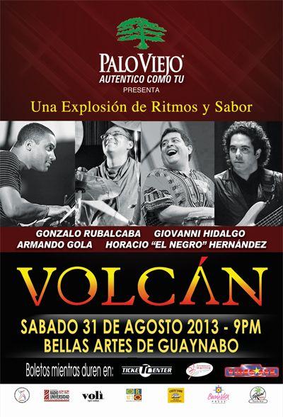Volcán @ Centro de Bellas Artes, Guaynabo #volcan #sondeaquipr #centrobellasartesguaynabo #paloviejo