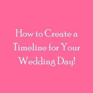 Planning your wedding? Check out these Wedding Timeline Tips and ...