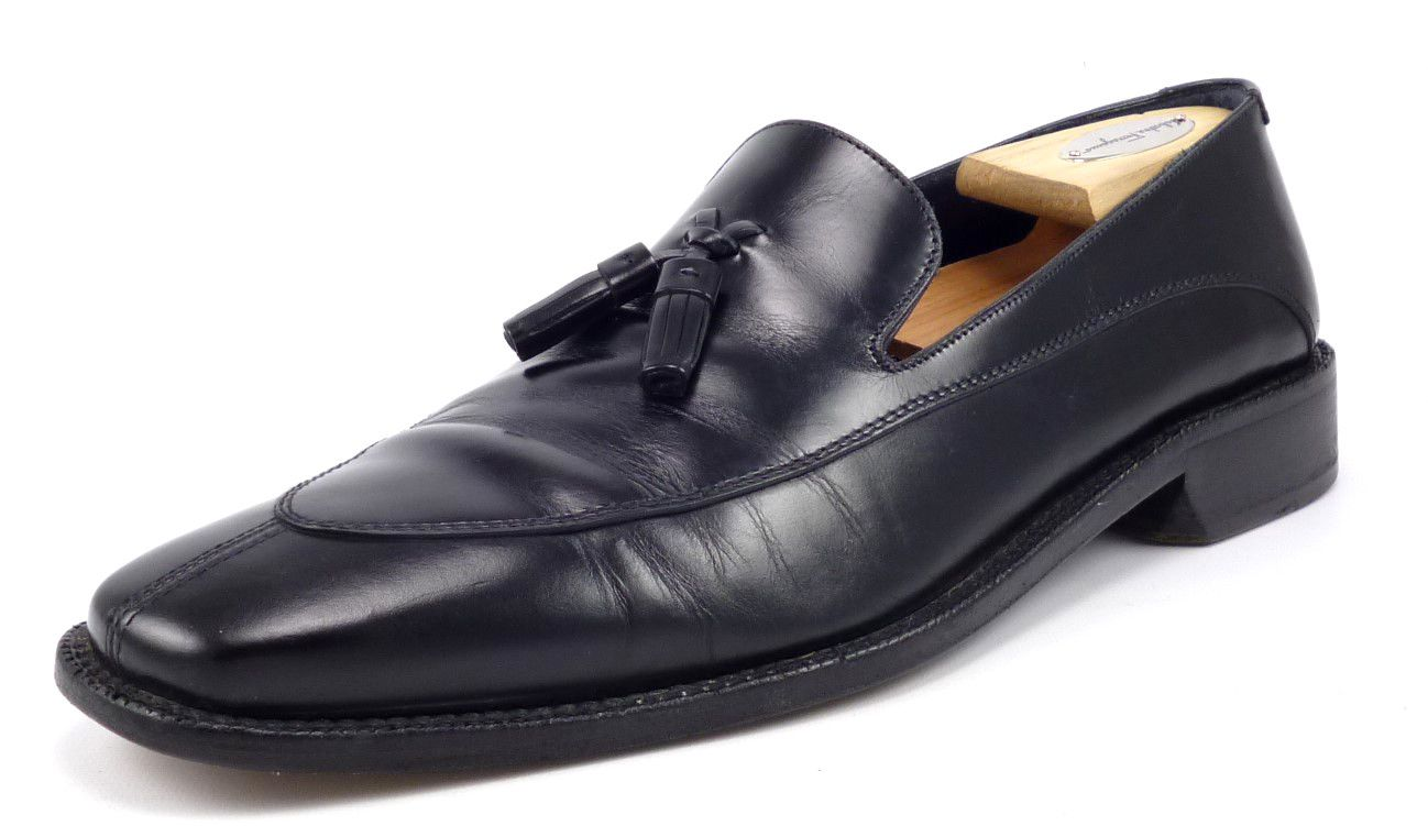 f1575a10ee7c Gucci Mens Shoes Size 6.5 Leather Lug Sole Bit Loafers 1116030 Black ...