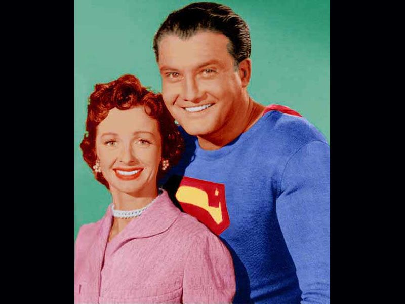 Batman and Batgirl, 1960s TV Series. ( Psychedelic Batman ... |Superman Black And White Tv Show