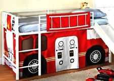 Fire Engine Loft Bed Curtain Google Search Bed Pinterest