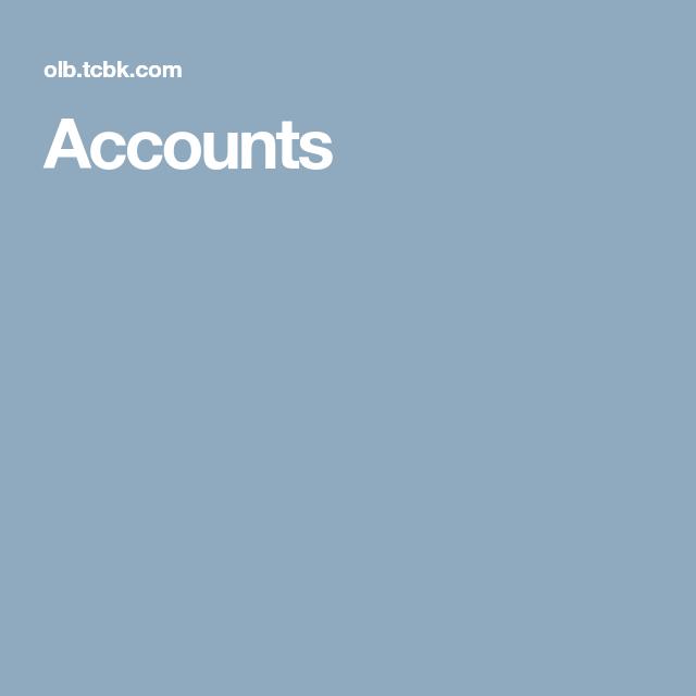 Accounts Accounting Online Banking Banking