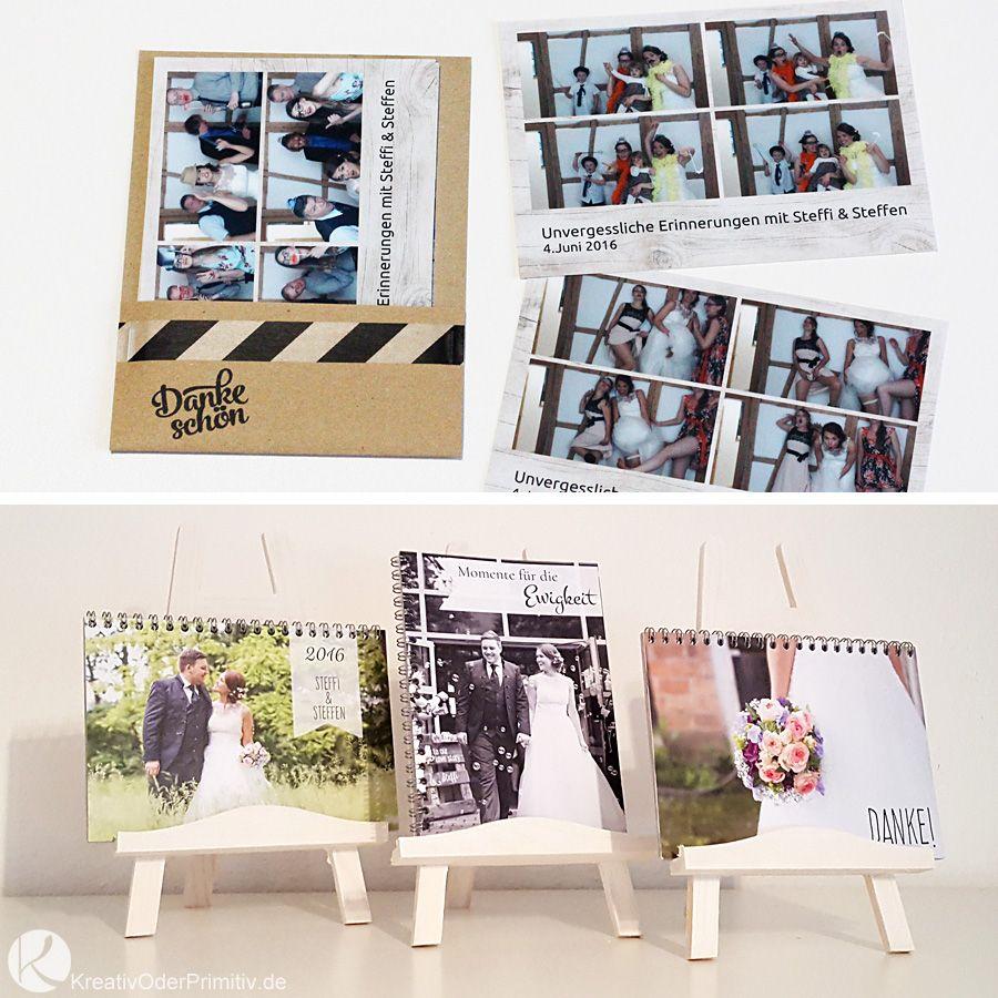Danke Karten Fotos Hochzeit Album Erinnerung Fotobox Diy Hochzeit