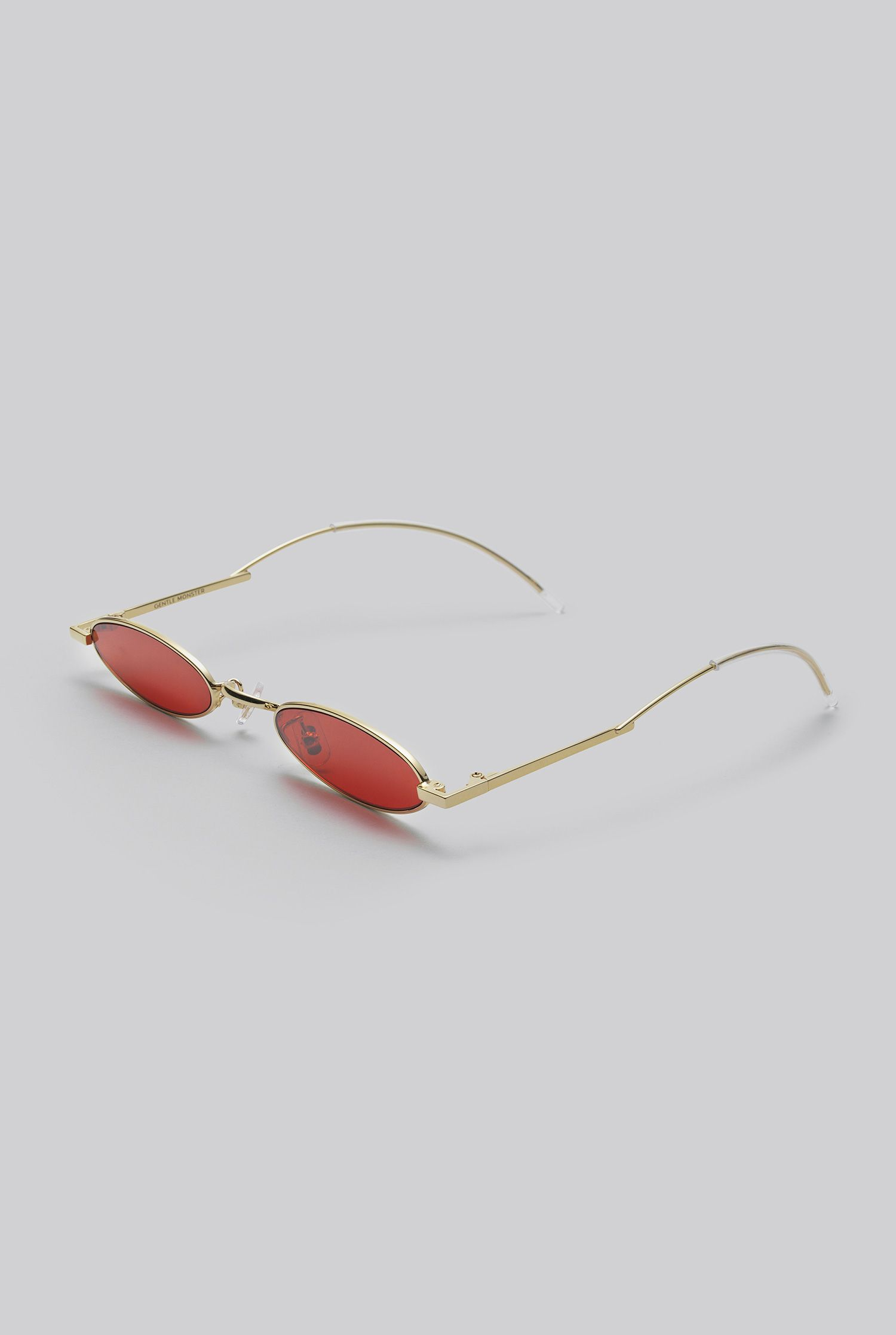 a3859a2d9c3a GENTLE MONSTER 2018 Sunglasses VECTOR 03(RED) Stainless and monel frame in  gold