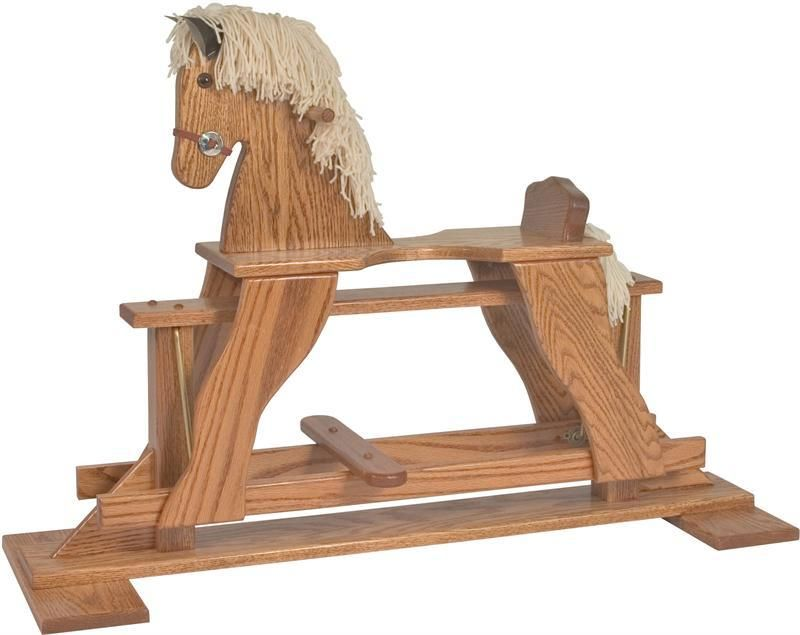 Amish Rocking Horse Plans Pdf Plans Woodworking Plans Rabbit Hutch