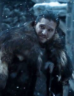 Definitely been somewhat of a happier season if you can even go that far. I just hope Sansa won't have any doubts about Jon for whatever reason.
