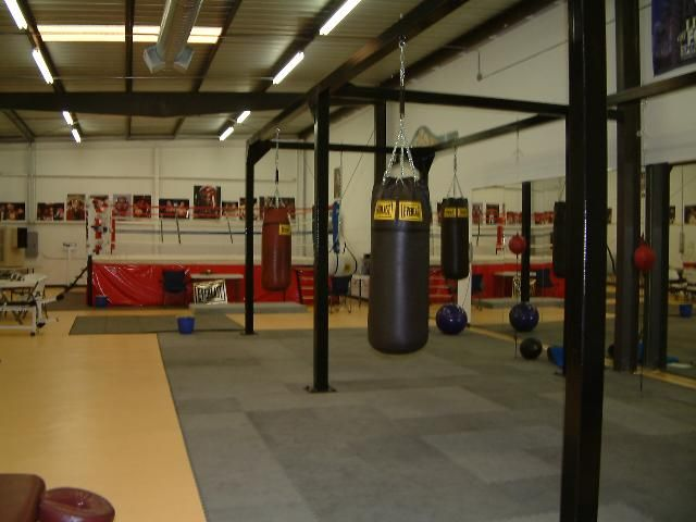 Nothing like a good workout at boxing gym favorite