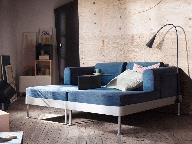 Blue Modular Multifunctional Ikea Sofa Arquitectura Interior Ikea Estilo Minimalista