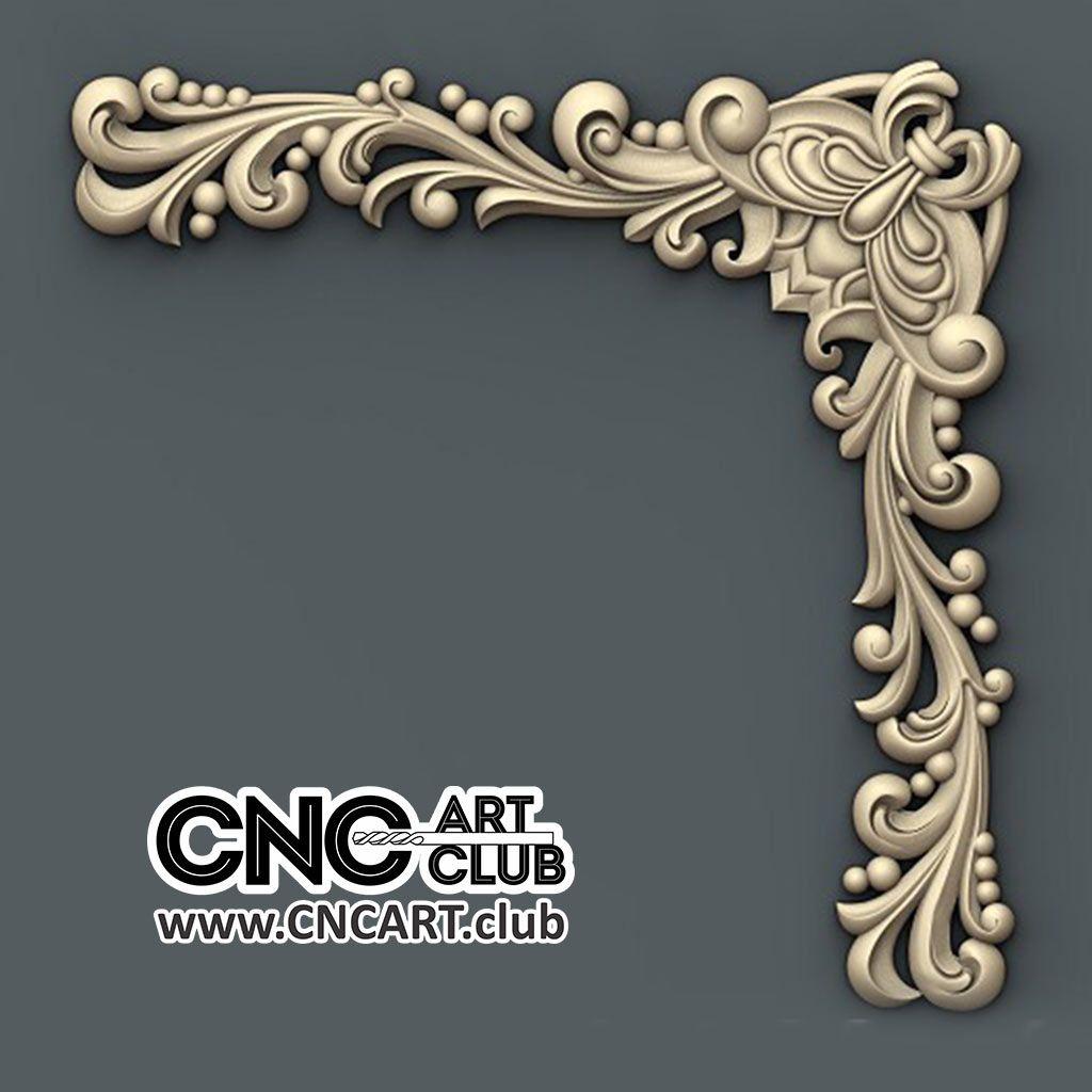 Corner 1014 Beautiful Decorative Corner Design For CNC