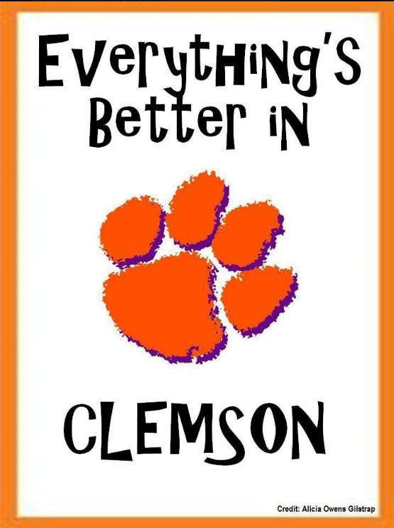 Clemson Tiger Birthday Meme