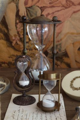 Bonamy Brass Hourglass - Decorative Hourglass, Hourglass Collection | Soft Surroundings
