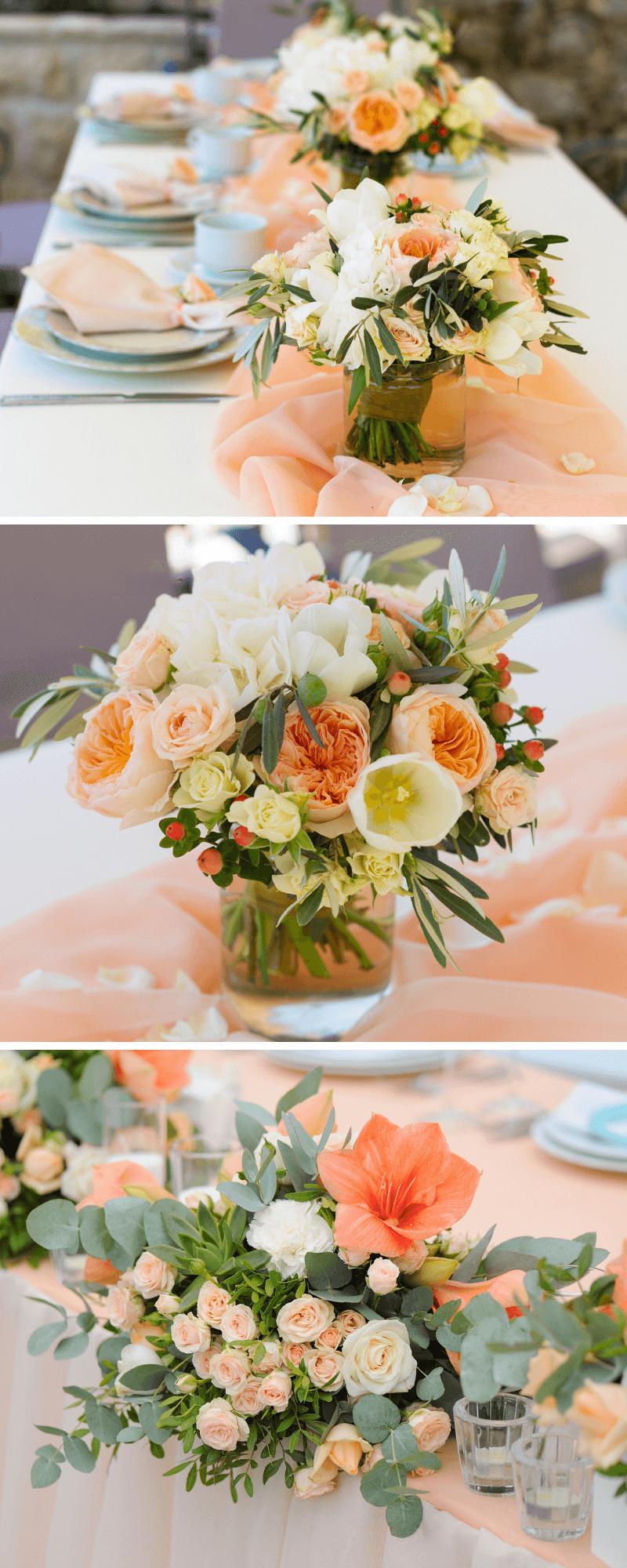 30 strahlende Inspirationen für eine Hochzeit in Apricot – Hochzeitskiste – Boda fotos