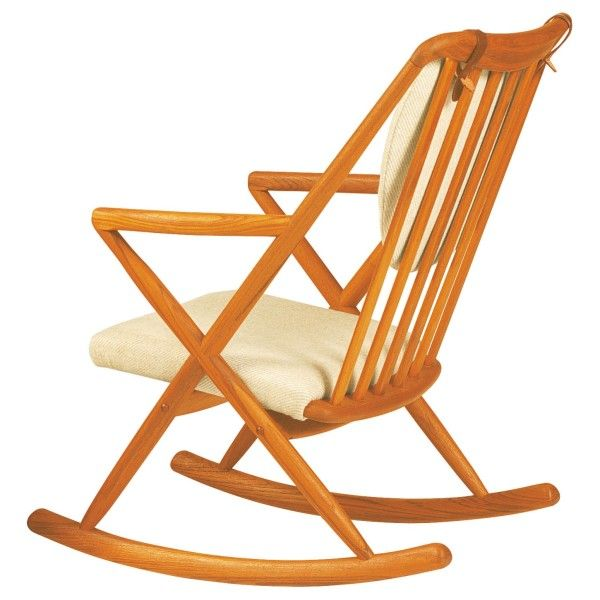 Bl32 Classic Teak Rocking Chair House, House Of Denmark Furniture