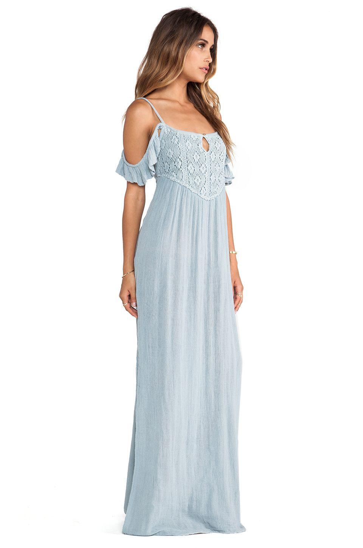 9938bd750264c Jen's Pirate Booty Petunia Maxi in Haze Grey | Bridesmaid Dresses ...