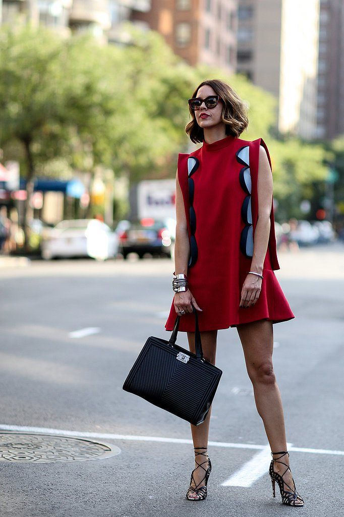 Chic Street Styles At New York Fashion Week Spring/Summer 2015