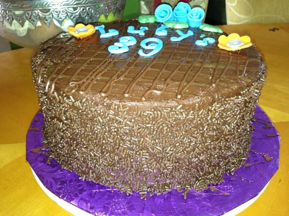 Tripple Moist Chocolate Cake 39th Birthday Cake Chocolate Addicted
