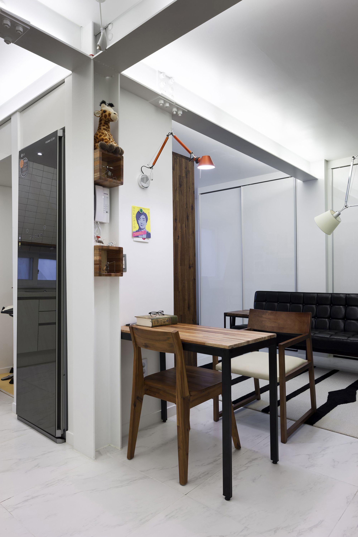 Small Apartments - Suo-Jae - The House to Uphold Myself - Studio GAON - South Korea - Seoul - Dining Area - Humble Homes & Modern Small Apartments in Seoul by Studio GAON   dorm   Pinterest ...