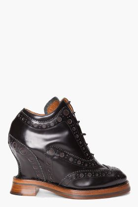 Acne Spin Boots. - I love a good brogue.