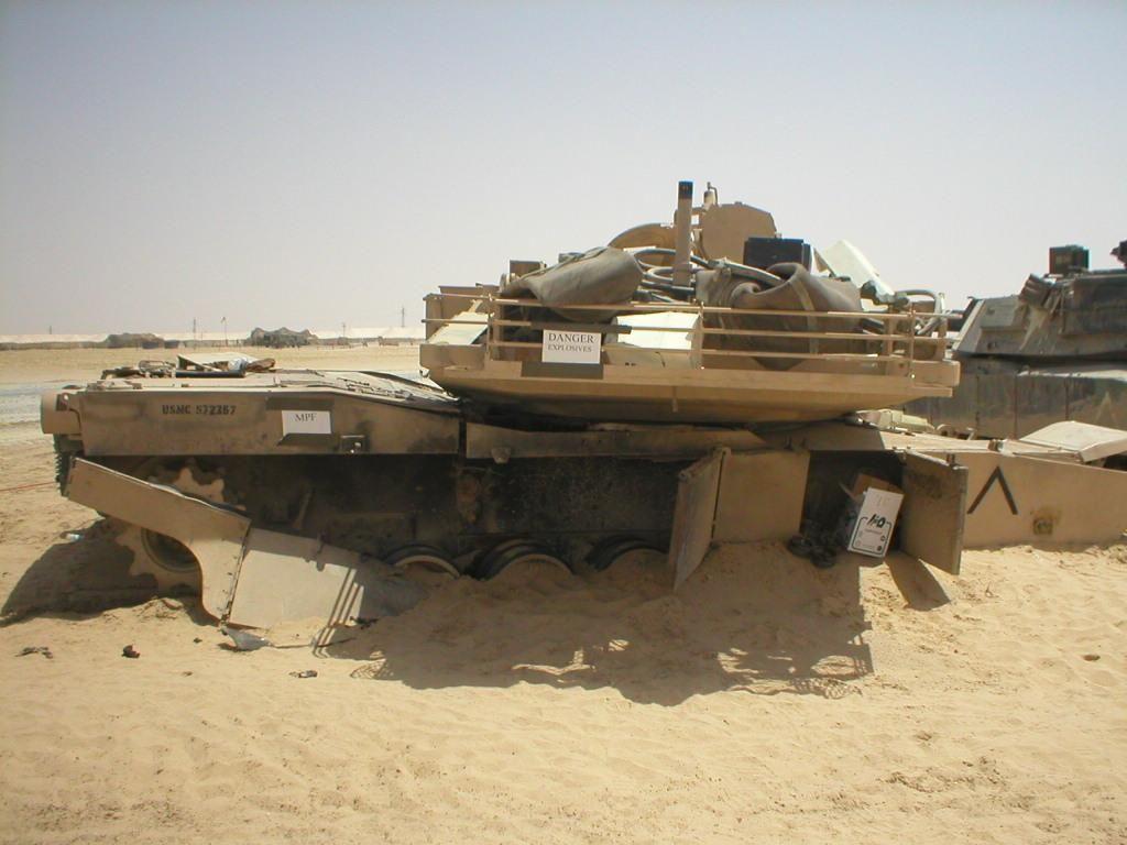 M1 Abrams Destroyed