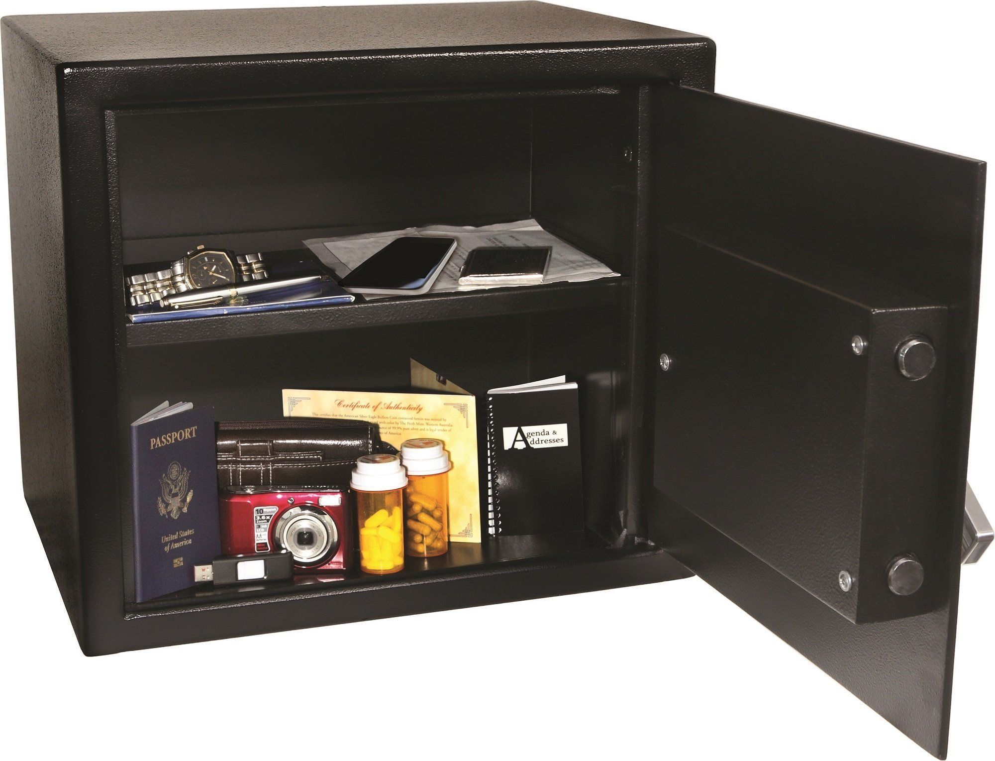 Honeywell 5123U Combination Dial Steel Security Safe The
