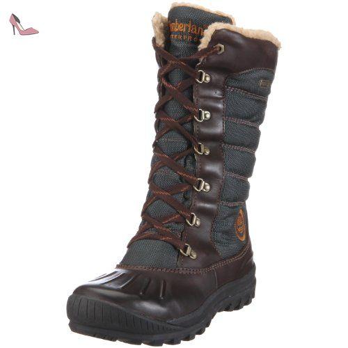 bottes timberland femme marron