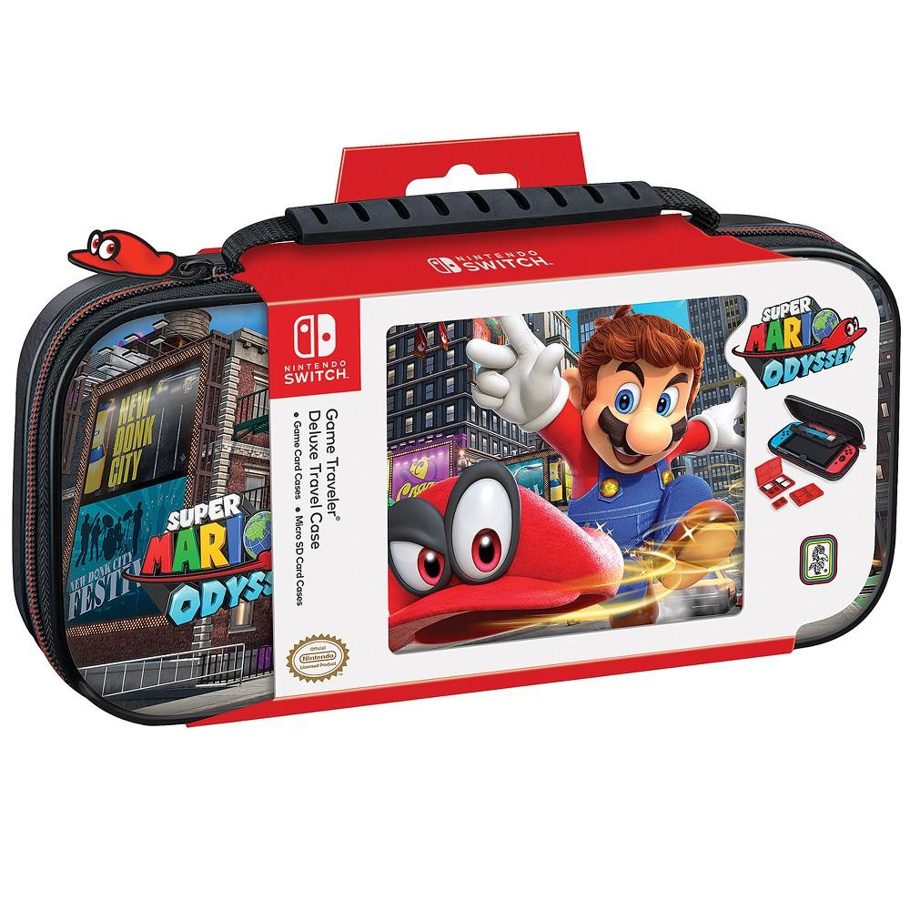 Nintendo Switch Game Traveler Super Mario Odyssey Deluxe Travel Case Nintendo Switch Super Mario Nintendo