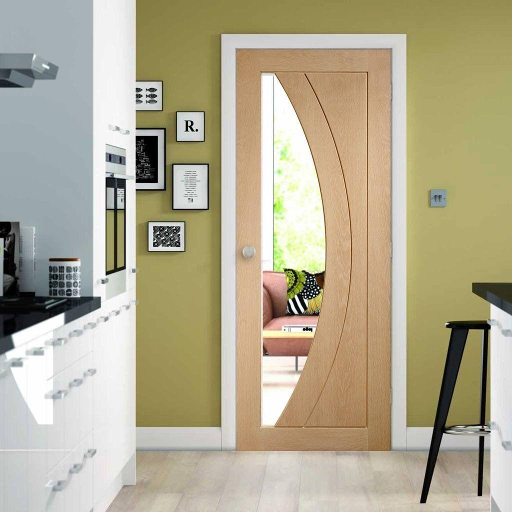 Salerno oak door with clear safety glass oak doors safety glass salerno oak door clear safety glass a new classic doorcontemporarydoor moderndoor planetlyrics Gallery