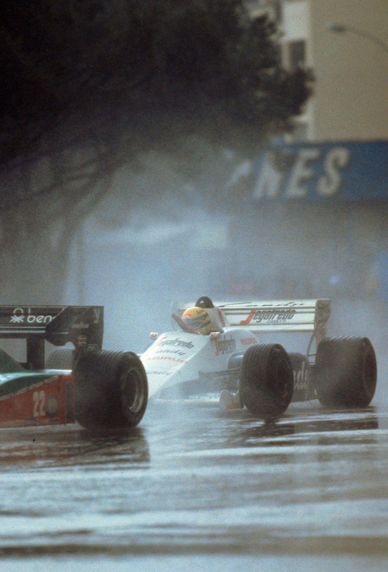 f1pictures: Ayrton Senna Toleman - Hart Monaco 1984