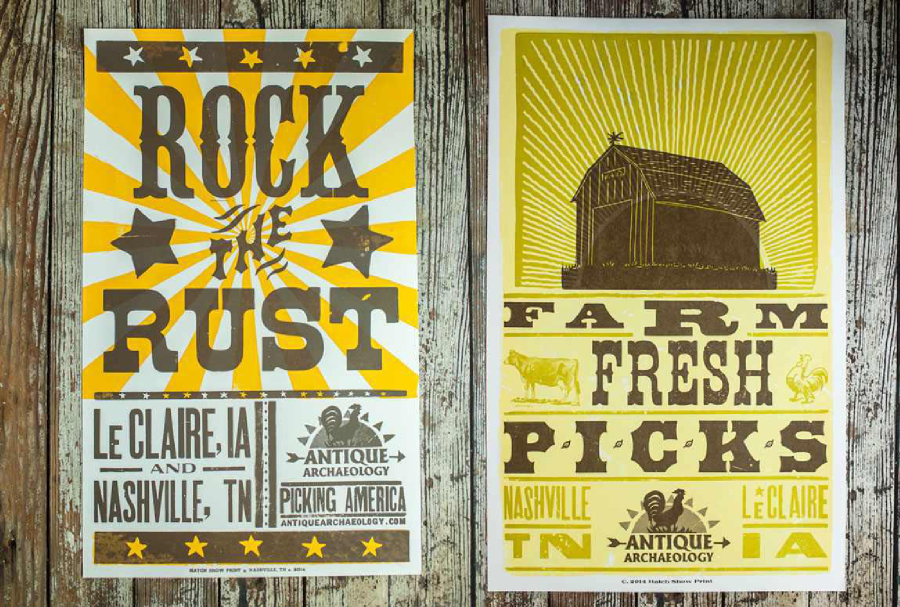 Hatch Show Print Advertising As Art Two Lanes Blog Letterpress Poster Advertising History Poster Prints