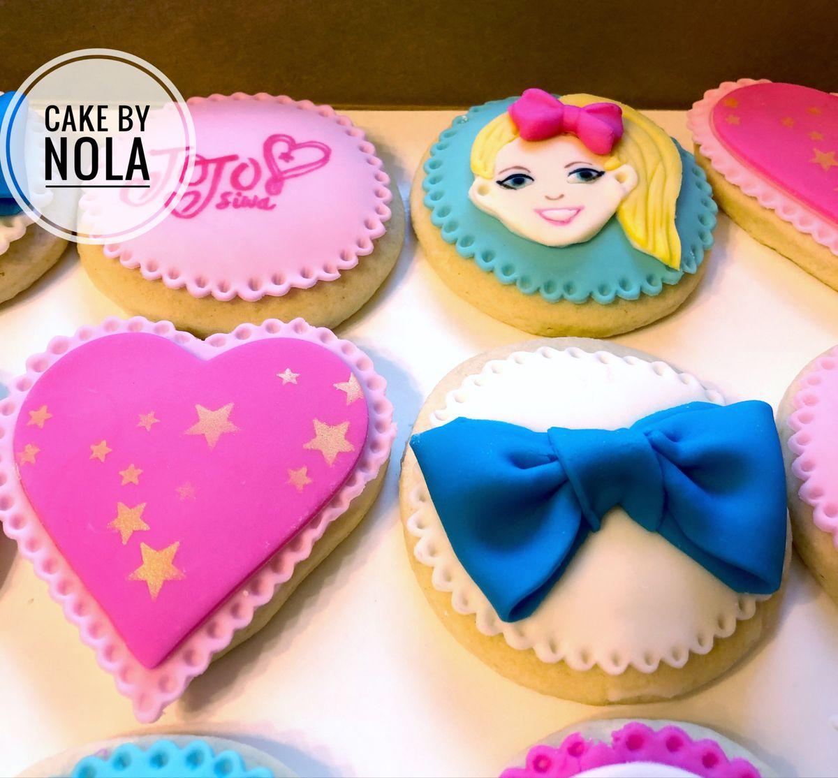 Jojo Siwa Cookies in 2020 Sugar cookie, Cookies, Cake
