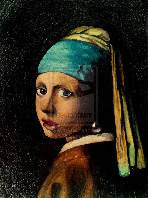 Girl With a Pearl Earring 3 by on