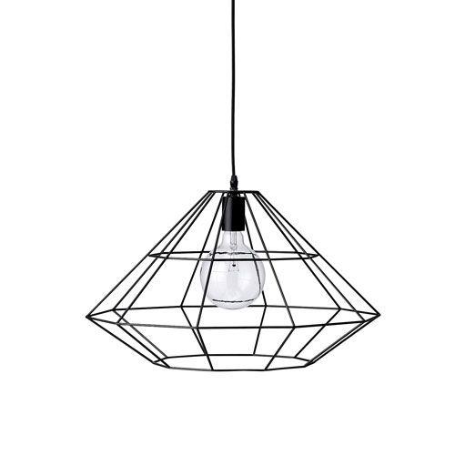 suspension en m tal noir ou cuivr pernille bloomingville tendance grillage pinterest. Black Bedroom Furniture Sets. Home Design Ideas