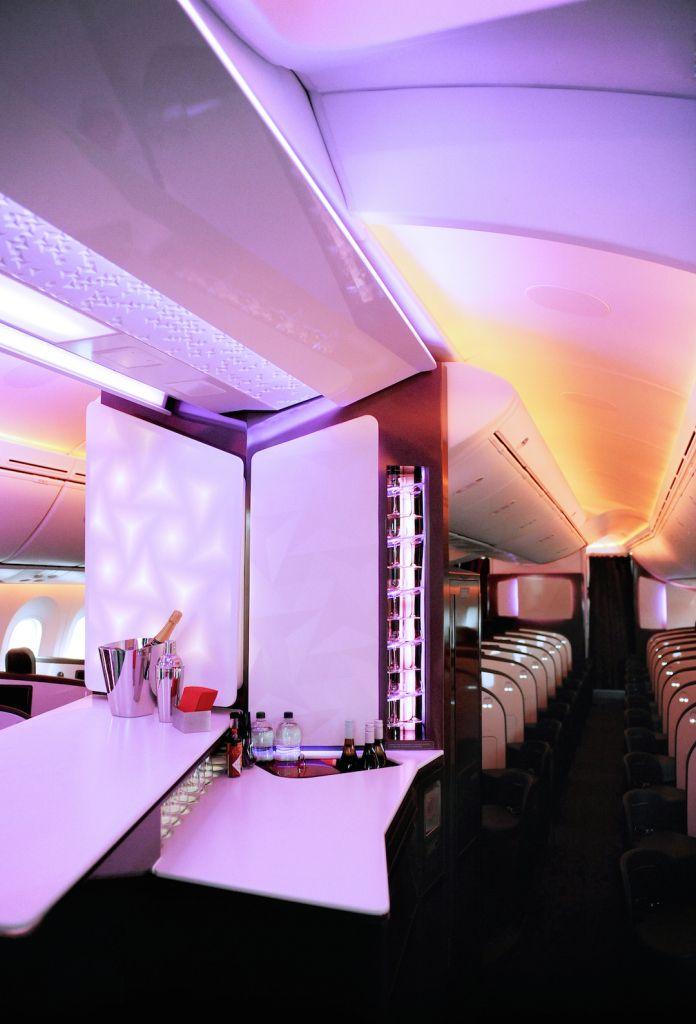 Economic Interior Design Ideas: Virgin Atlantic 787 Upper Class And Premium Economy