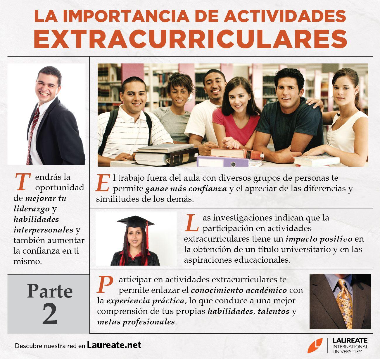 Esta Es La Segunda Parte Sobre La Importancia De Actividades Extracurriculares Ahora Que Has Le Spanish Reading Activities Spanish Classroom Spanish Resources
